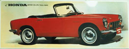 Honda S600 Poster - Reproductions Available